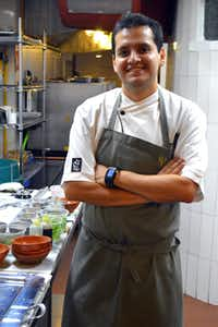 Chef Jorge Vallejo offers contemporary Mexican cuisine Quintonil Restaurant.
