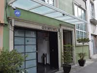Quintonil RestaurantÕs simple exterior in the Polanco neighborhood of Mexico City belies the quality of the food within.