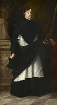 "Bartolom Esteban Murillo, ""Portrait of Don Juan Antonio de Miranda y Ram rez de Vergara,"" 1680.Courtesy  -  House of Alba Collection"