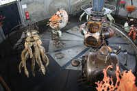In Nantes, France, Les Machines de L'île is a 21st century mechanical wonderland where visitors can catch rides on twirling sea creatures, a soaring heron and a larger-than-life, gear-crunching elephant that lumbers freely within this fantastical amusement park devoted to the sci-fi of Jules Verne.