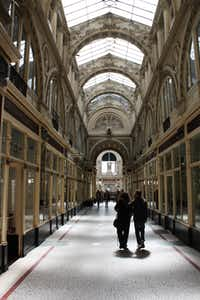The Passage Pommeraye, in Nantes, France, is a small shopping mall in central Nantes, France, named after its property developer, Louis Pommeraye.