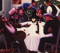 """The Liar,"" 1936Howard University Gallery of Art - Image copyright Valerie Gerrard Browne"