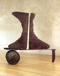 Voltri VI by David Smith at the Nasher Sculpture CenterNasher Sculpture Center