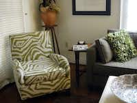 The furnishings in Vera's Guest House in Natchitoches, La. reflect a modern sensibility.