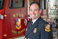 Brent Parker is replacing outgoing Wylie Fire Chief Randy Corbin.Photo by CRAIG KELLY  -  City of Wylie