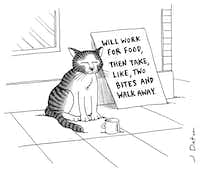 """From """"The Big New Yorker Book of Cats."""""""