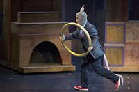 Randall Scott Carpenter performs as the title character in Stuart Little at Dallas Children's Theater Friday, June 13, 2014 in Dallas. The play, which is based on the popular children's book, runs at the theater through July 13.G.J. McCarthy - Staff Photographer