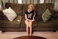 Maggie Butterfield, 11, gives herself herself human growth hormone shots six days a week. She was diagnosed with growth hormone deficiency at age 6.