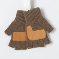 Wool-blend fingerless gloves appeal to gardeners who are put off by the bulk of other styles. One size fits all; runs large. $28 at shopterrain.com.