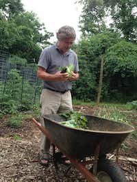 Peter Hatch, recently retired, directed the cultivation of one of the grandest vegetable gardens in the world for 35 years -- Thomas Jefferson's Monticello.