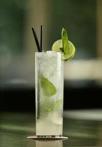 The trendy mojito has boosted mint's popularity.Evans Caglage  -  Staff Photographer