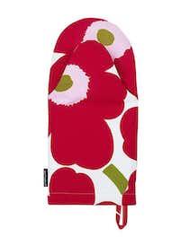 Unikko's poppies make mundane items such as an oven mitt pop. $22 at usstore.marimekko.com.Marimekko