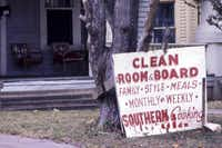 In the mid-1970s, the early Dallas subdivision known as Munger Place was a down-at-the-heels collection of cheap rooming houses, apartments and abandoned buildings.supplied