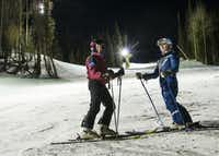 Romantic views and fewer skiers are just part of the advantages to nighttime skiing at Keystone.