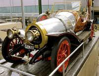 Chitty Chitty Bang Bang, a favorite Fleming car at the National Motor Museum.