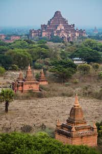 Dhammayangyi temple in Bagan, Mandalay.