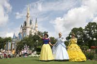 Snow White, Cinderella and Belle make every day a royal fairy tale for Princesses of all ages at the Magic Kingdom.