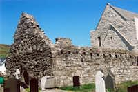 Visitors make a trek to the abbey ruins where Grace O'Malley, the area's self-proclaimed pirate queen and a contemporary of Queen Elizabeth I,  is buried.