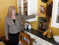 Geisler collects wooden shoes, cuckoo clocks and other categories on her travels with her husband.