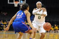 Baylor guard Odyssey Sims wears No. 0.Mark D. Smith/ USA Today Sports