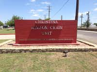 The Christina Melton Crain Unit, formerly in the Gatesville Unit, was named after Crain when she retired as the first chairwoman of the Texas Board of Criminal Justice in 2008.Photo submitted by CHRISTINA MELTON CRAIN