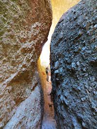 Some hiking trails in Pinnacles National Park weave between otherworldly boulders and through caves.