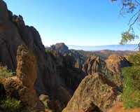 Pinnacles National Park's dramatic landscapes resulted from Neenach Volcano's eruption 23 million years ago and action that helped prove the existence of tectonic plates.
