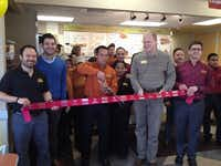 Pollo Campero celebrated its opening at 1812 N. Story Road with a ribbon-cutting ceremony.Staff photos by DEBORAH FLECK
