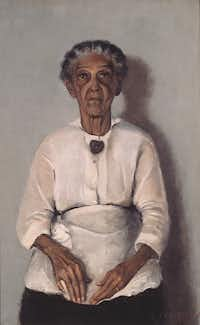 """""""Portrait of My Grandmother,"""" 1922Chicago History Museum - Image copyright Valerie Gerrard Browne"""