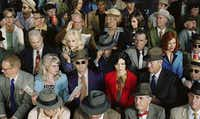 Alex Prager (1979- ) Crowd #1 (Stan Douglas), 2010 Dye coupler print