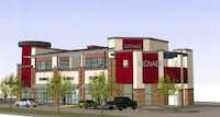 Lancaster Kiest Village will house retail and residential space.
