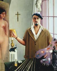 """Self-Portrait (Myself at Work),"" 1933Chicago History Museum - Image copyright Valerie Gerrard Browne"
