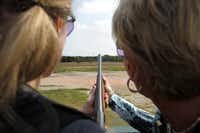 The shattering of clay pigeons against the blue Texas sky was a rush and a moment of pride for a novice shooter.