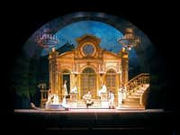 A scene from Lyric Stage's production of The Sound of Music.