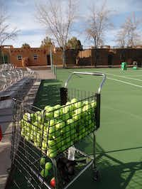 Sharpen your court skills at Green Valley resort, which offers a tennis-focused CourtThink program year-round.Kathy Chin Leong -  Kathy Chin Leong