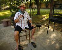 """""""At cookouts, people always come by the grill and ask, 'When's it going to be ready?' With tablitas, you can feed people almost immediately or in just a few minutes,"""" says Terry Chandler, owner of Fred's Texas Cafe in Fort Worth, who caters under the name the Outlaw Chef."""
