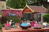 The Thai community held its first Thai Culture and Food Festival at the Buddhist Center of Dallas.Jarvis Jacobs  -  Special Contributor