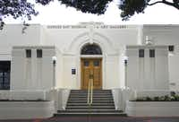 The Hawke's Bay Museum and Art Gallery in Napier, New Zealand.