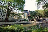 The Briscoe Western Art Museum is located along the San Antonio River Walk, opposite La Villita and the historic Presa Street Bridge.