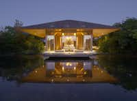 Pavilion at the Amanyara Resorts in the Turks and Caicos Islands.