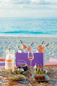 Stix at the Grace Bay Resorts in the Turks and Caicos Islands.