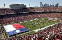 With other cities vying to host the Red River Rivalry between Texas and Oklahoma, Dallas can't afford to wait on Cotton Bowl improvements, council members were told Monday.