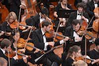 The University of North Texas Symphony.