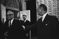 The 1964 presidential race between Barry Goldwater and Lyndon B. Johnson proved predictive of America's future divide.