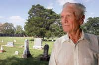 Jack Cook had his reasons for wanting to care for the grounds of Lonesome Dove Cemetery. He died Oct. 9 at age 96.