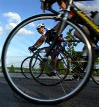 The 2nd annual Ride of Silence in 2004 at White Rock Lake attracted nearly 2,000 riders to pay tribute to cyclists, runners and skaters killed or injured in collisions with motor vehicles.