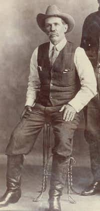 J. Frank Norfleet as a young man.