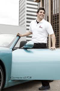 Jalal Itani checks out the new Porsche 911
