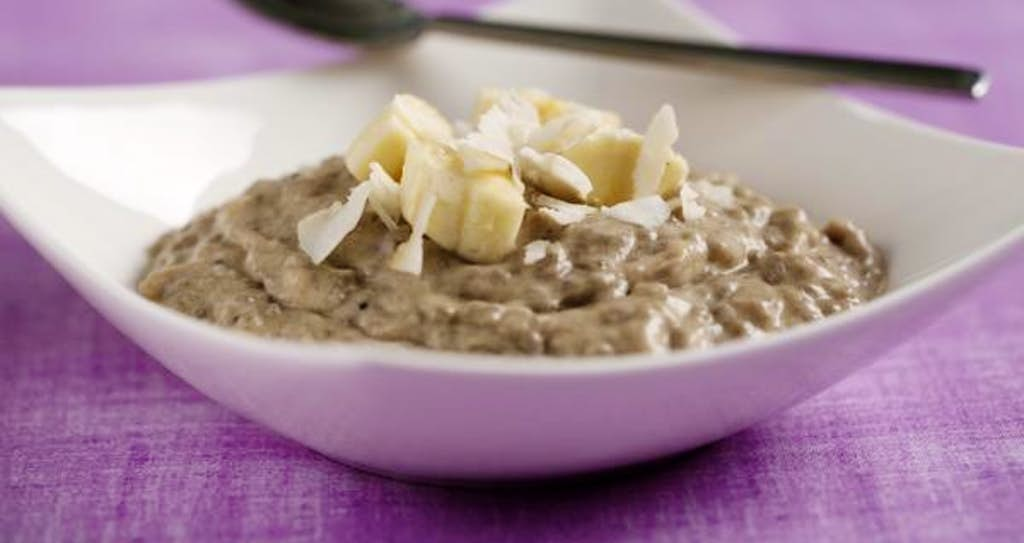 Coconut banana pudding from true food kitchen uses chia seeds evans caglage staff photographer forumfinder Choice Image