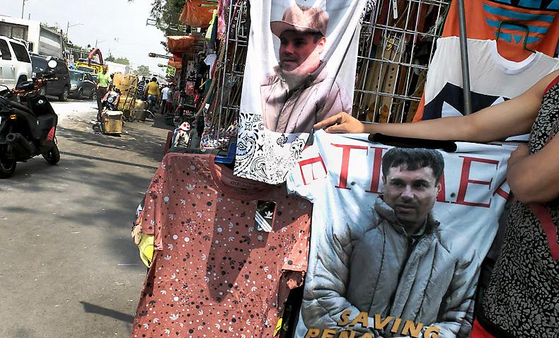 Escaped Mexican cartel boss 'El Chapo' faces altered drug
